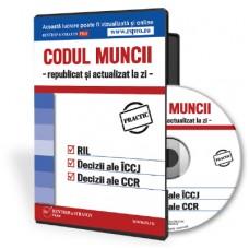 CD Codul Muncii 2017 republicat si actualizat la zi