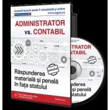 Administrator vs. Contabil. Raspunderea penala in fata statului